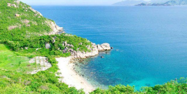 Một góc nhỏ trên đảo Bình Ba (Ảnh ST)