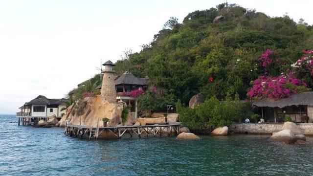 Vẻ đẹp đảo Bình Lập (Ảnh ST)