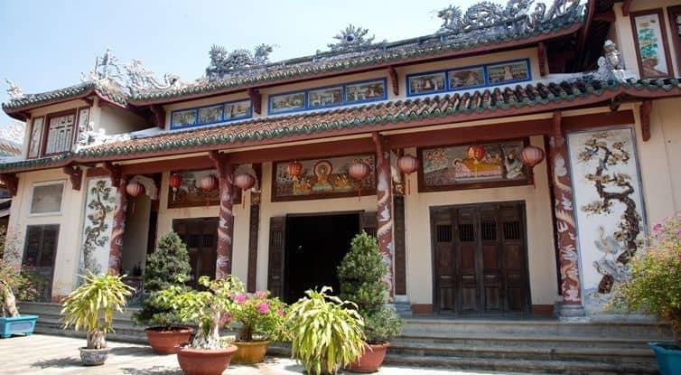 Chính điện chùa Phước Lâm (Ảnh ST)