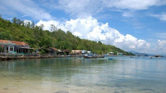 Ngôi làng chài nhỏ trên đảo (Ảnh ST)