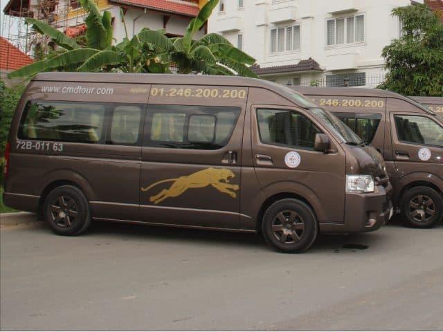 Xe Minh Dũng tại bến xe Nha Trang đi Đà Lạt (Ảnh ST)