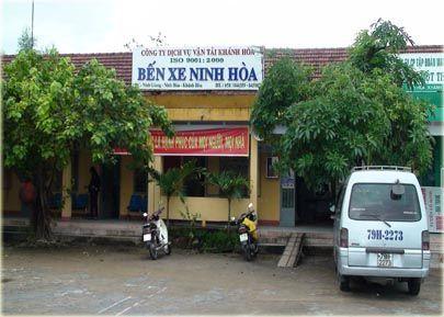 Bến xe Ninh Hòa (Ảnh ST)