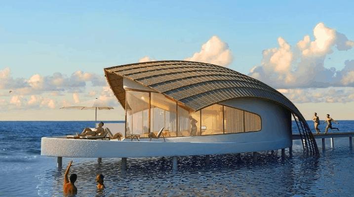 Thiết kế nhà nghỉ ở The Shells Resort độc đáo và đẹp mắt
