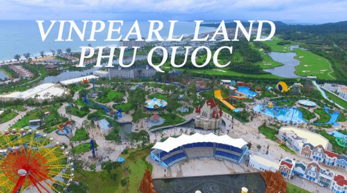 Trải nghiệm thú vị tại khu vui chơi giải trí Vinpearl Land Phú Quốc