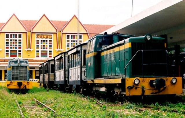 Ga xe lửa Đà Lạt cổ kính (Ảnh ST)