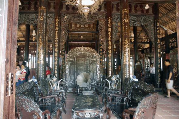 Thiết kế trong nhà cổ Phước Lộc Thọ