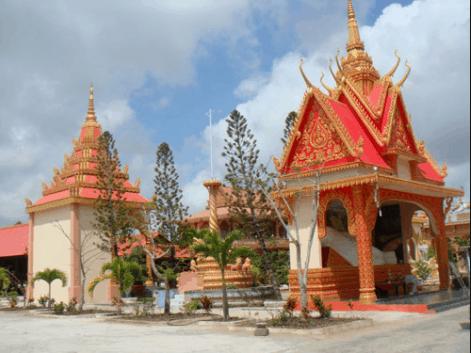 Vẻ đẹp của chùa Xiêm Cán