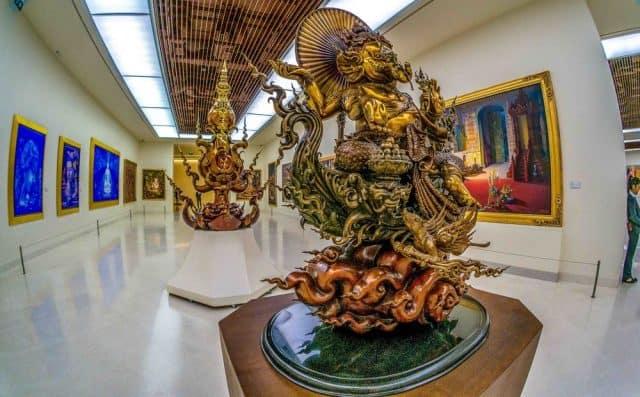 Bảo tàng nghệ thuật đương đại là 1 địa điểm du lịch Bangkok nổi tiếng (Ảnh ST)