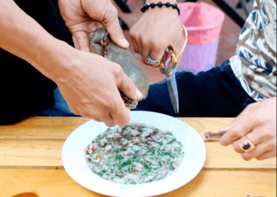 Cách làm tiết canh cua