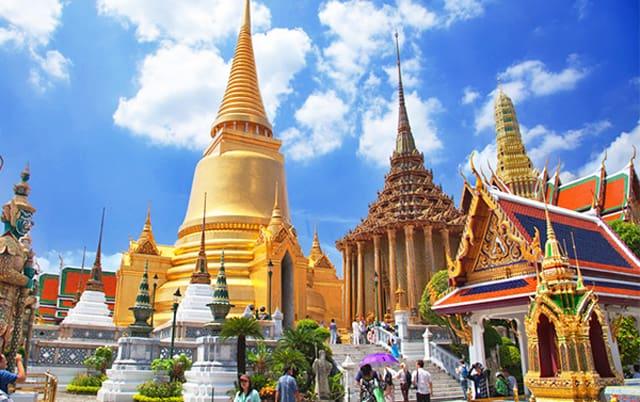 Chùa Phật Ngọc ở Thái Lan (Ảnh ST)