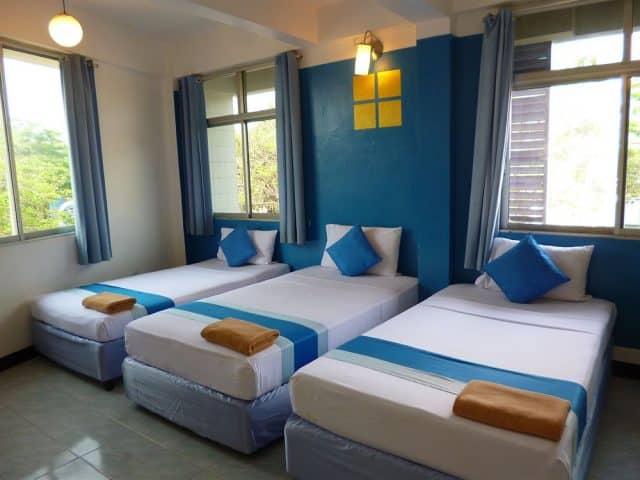 Phòng nghỉ được trang trí rất đẹp tại khách sạn (Ảnh ST)