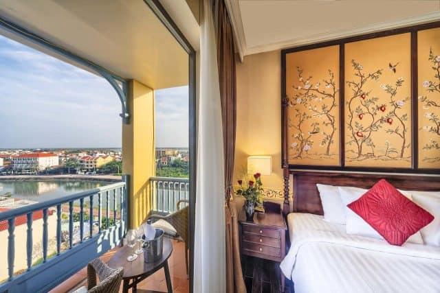Không gian thoáng mát trong phòng nghỉ của khách sạn (Ảnh ST)