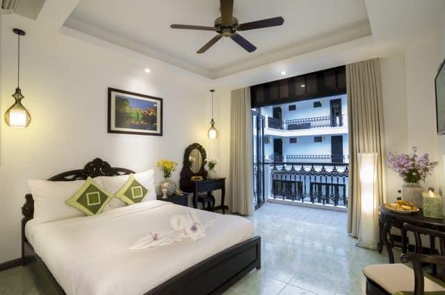 Phòng nghỉ của khách sạn Acacia Heritage (Ảnh ST)