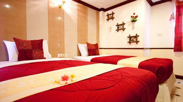 Không gian lãng mạn trong phòng nghỉ của khách sạn (Ảnh ST)
