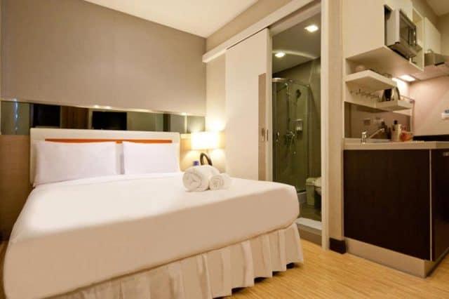 Phòng nghỉ mang màu sắc trang nhã (Ảnh ST)
