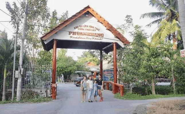 """""""Vui chơi hết mình"""" tại khu du lịch Phú An Khang – Bến Tre"""