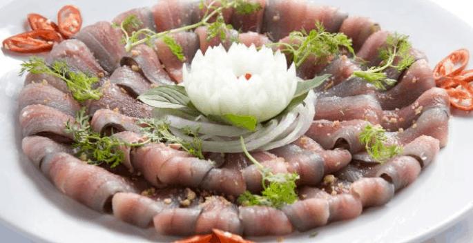 Món gỏi cá trích nổi tiếng Kiên Giang
