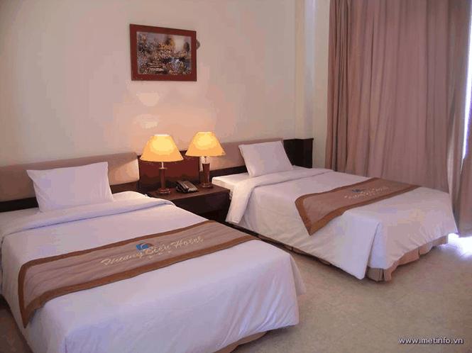 Phòng ngủ khách sạn Hương Biển