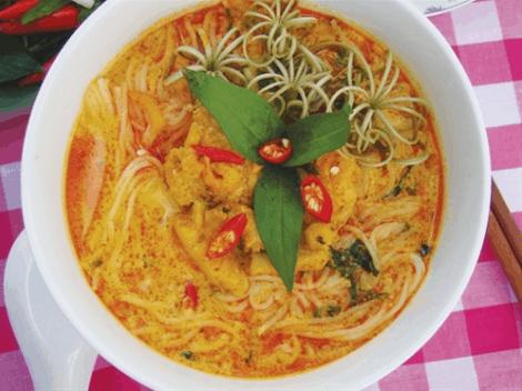 Món ăn phổ biến ở miền Tây