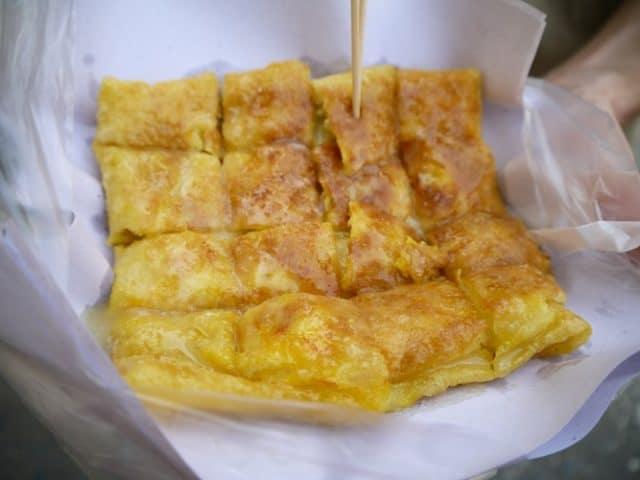 Bánh chuối - đặc sản Thái Lan dễ gây nghiện (ẢNH ST)