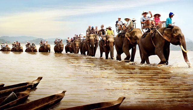 ham gia du lịch sinh thái cưỡi voi cũng là một hoạt động thú vị ở Buôn Đôn (Ảnh: ST)