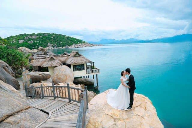 Chụp hình cưới ở resort Ngọc Sương (ẢNH ST)