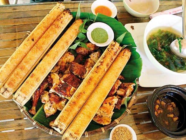 Món ăn đặc sản địa phương ở resort Buôn Ma Thuột (Ảnh ST)