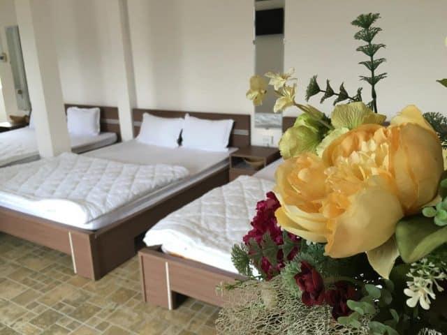 Phòng ngủ trang nhã dành cho du khách (Ảnh ST)