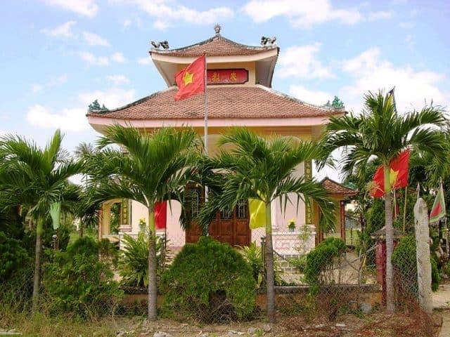 Giới thiệu đền thờ Trần Quý Cáp (Ảnh ST)