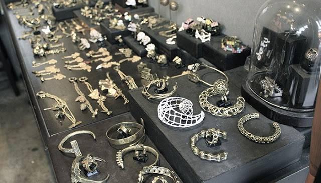 Đồ bạc Thái tinh xảo luôn hấp dẫn du khách (ẢNH ST)