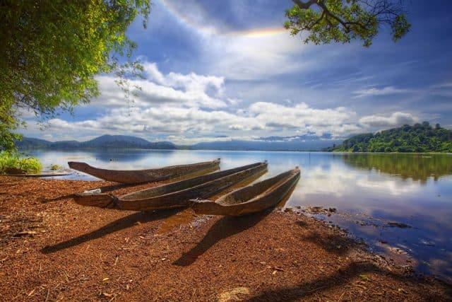 Không gian cực lãng mạn ở hồ Lăk (ẢNH ST)