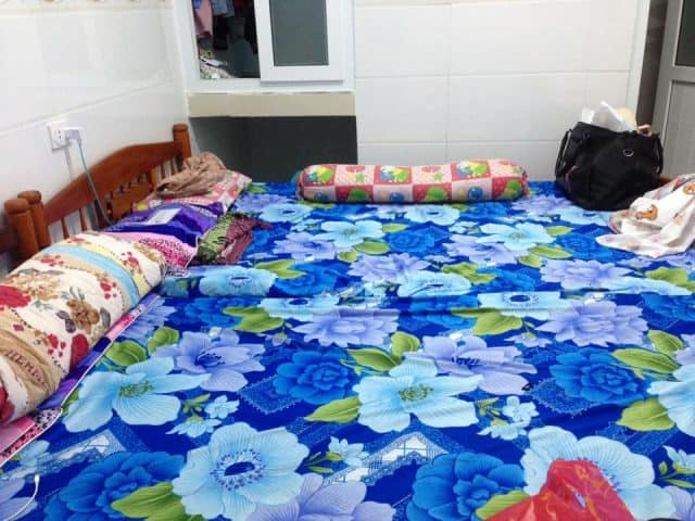 Homestay Lý Sơn này có một phòng lớn có thể chứ 10-15 người và một phòng nhỏ đủ cho 4 người (Ảnh ST)