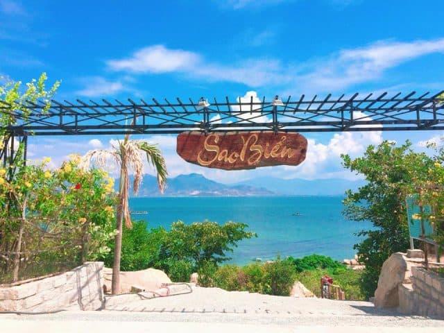 Khu du lịch Sao Biển cực chất ở biển Cam Ranh (ẢNH ST)