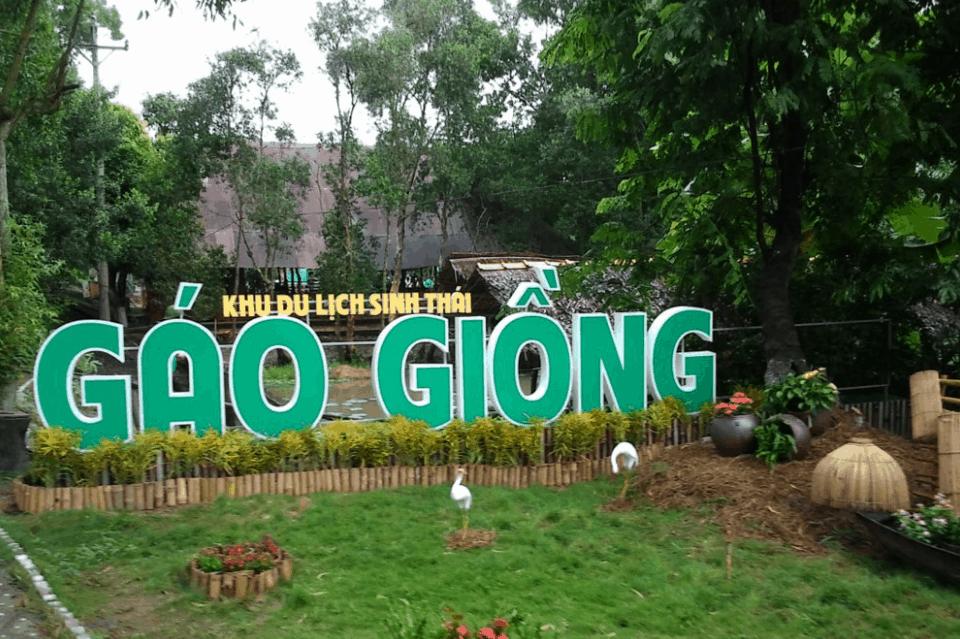 Khu du lịch sinh thái Gáo Giồng - Đồng Tháp