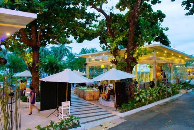 Nhà hàng của khu resort (ẢNH ST)