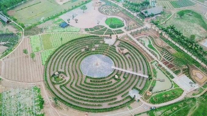 Công viên hoa hồng Rose Park Hà Nội