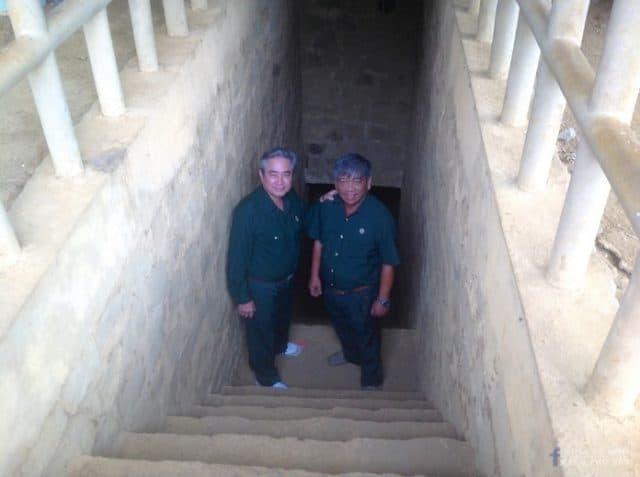 Những người cựu chiến binh về thăm nơi đây (Ảnh ST)