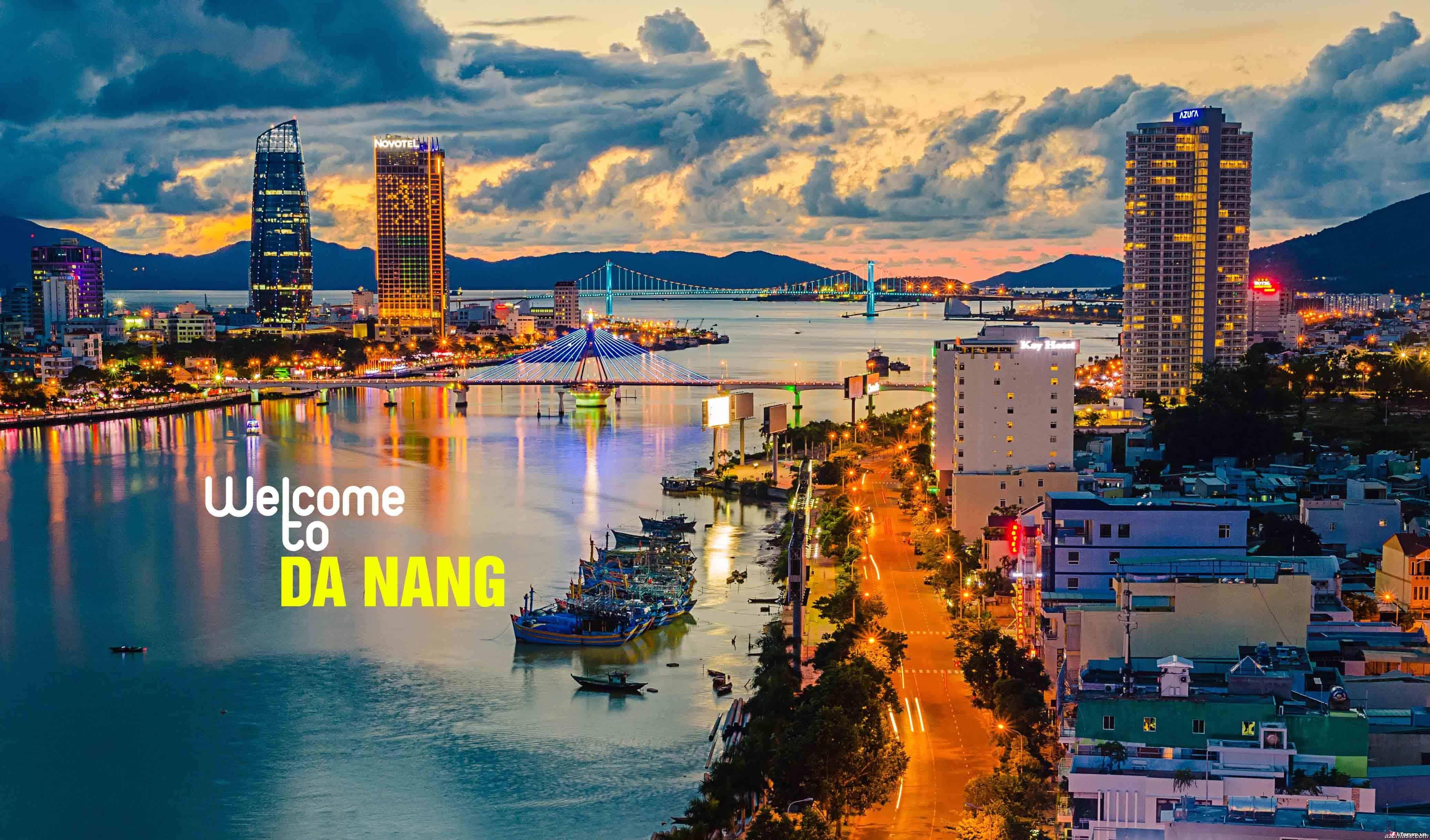 Khung cảnh bao quát Đà Nẵng