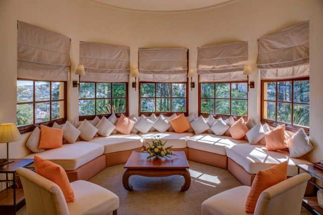 Phong cách thiết kế hiện đại trong mỗi căn phòng ở biệt thự (Ảnh ST)
