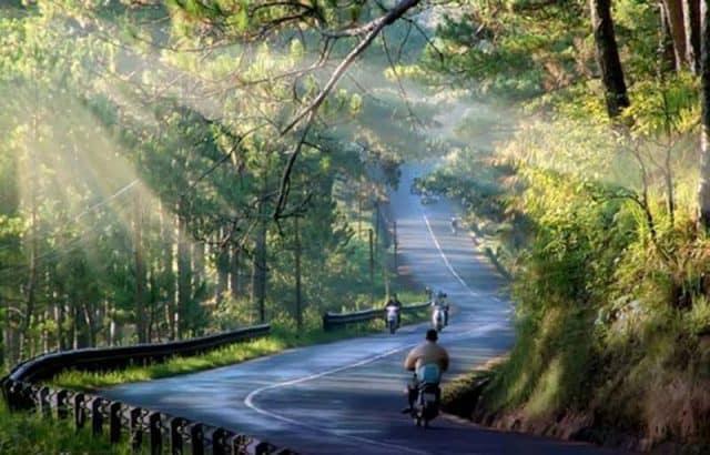 Cảnh đẹp thơ mộng tại đèo Prenn