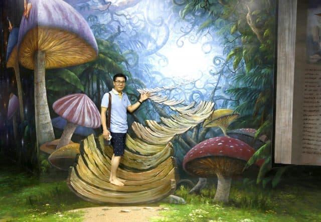 Phải chăng đây là đường đến Wonderland của Alice?