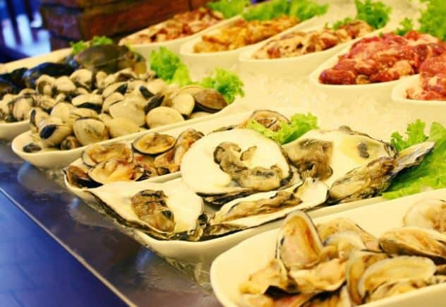 hải sản Vinpearl Phú Quốc