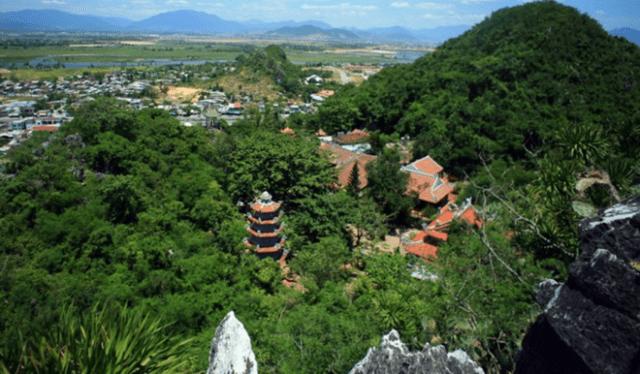 Quang cảnh núi Ngũ Hành Sơn (Ảnh ST)