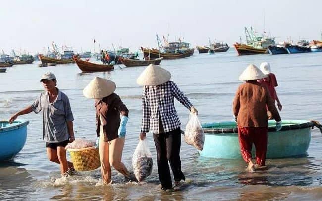 ngư dân làng chài Rạch Vẹm