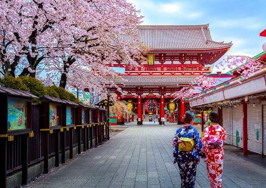 du lịch Nhật Bản mùa nào đẹp
