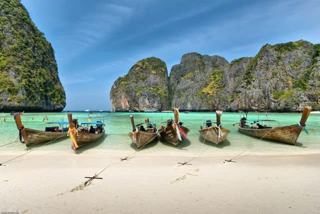 Koh Phi Phi thiên đường du lịch tại Thái Lan (Ảnh ST)