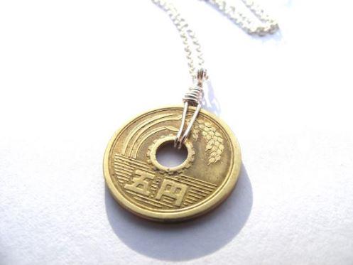 đồng xu 5 yên nhật