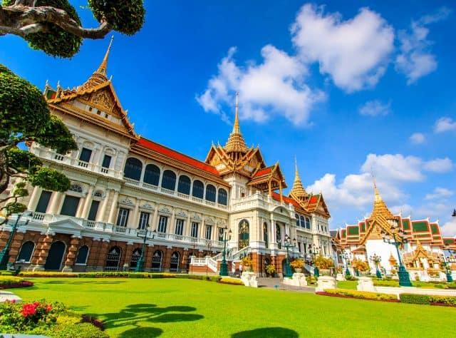 Hoàng cung Thái Lan nguy nga tráng lệ (Ảnh ST)