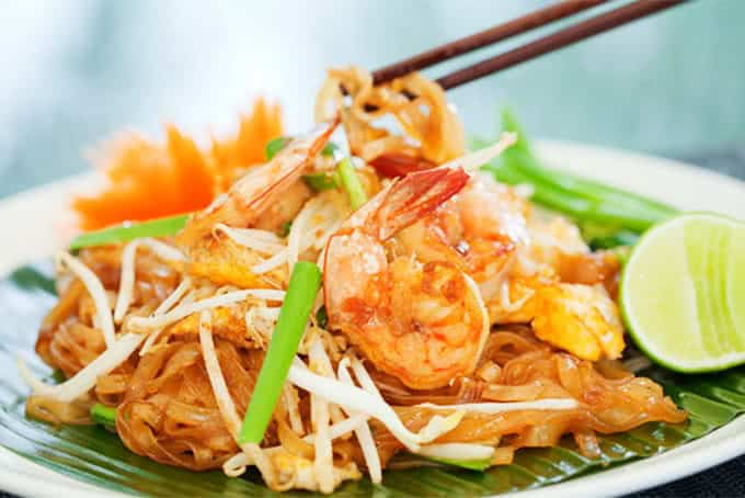 Pat Thái món ăn được nhiều du khách yêu thích (Ảnh ST)