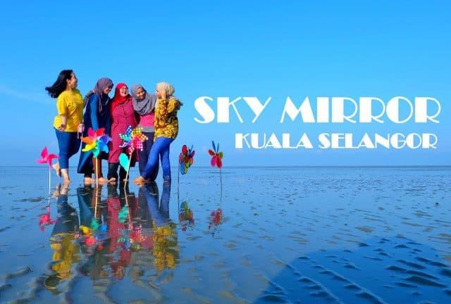 """""""Cực hot"""" với Sky Mirror ở Malaysia – Gương mặt trời khổng lồ"""